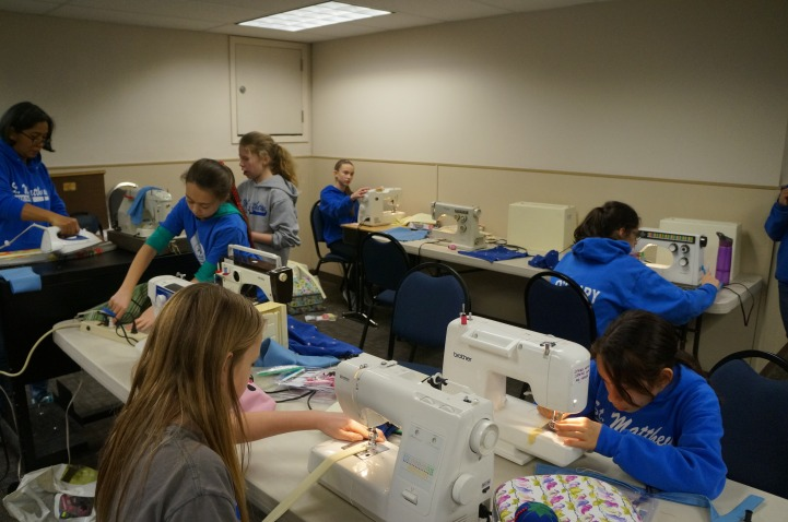 Sewing Class for Middle Schoolers