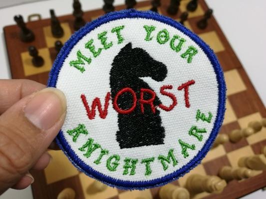 #worstknightmare