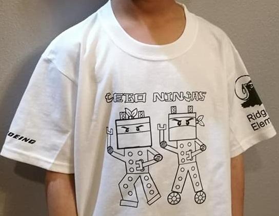Ridgecrest Elementary Lego Ninjas
