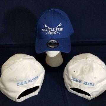 Monogrammed Crew Hats
